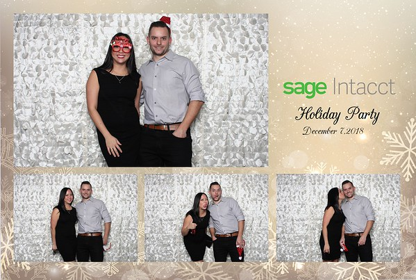 Sage Intacct Holiday Party 12.7.18