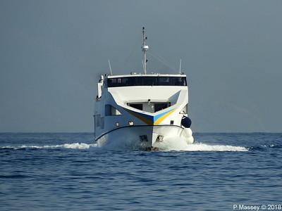 Departing Rhodes On Board SEBECO 12 Sep 2018