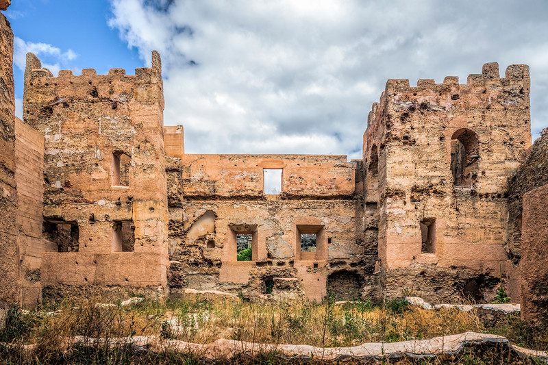 Ruins of Yanguas Castle, province of Soria, Spain