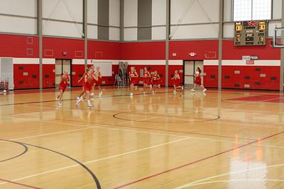 Girls Middle School Basketball 8 A&B - 2008-2009 - 9/22/2008 Tri-County