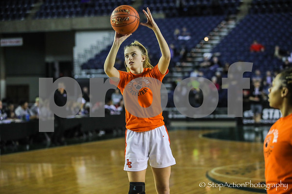 2019-03-02 State 4A Girls Basketball - Eastlake vs Lewis and Clark