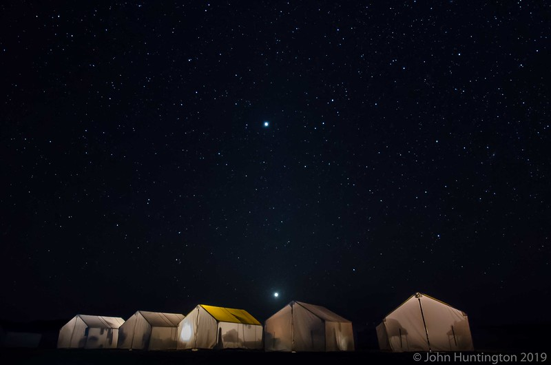 Stars over Baja Whale Watching Camp