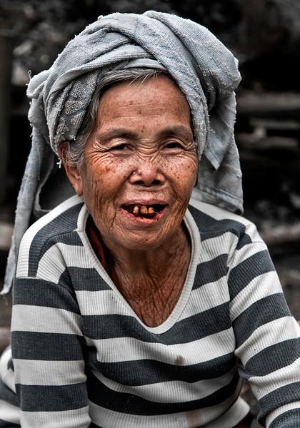 Lao villager.