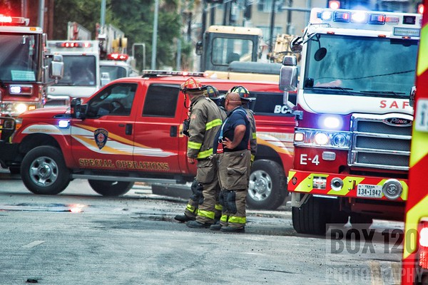 Apartment Fire - 1400 S. Flores St, San Antonio, TX - 7/23/17