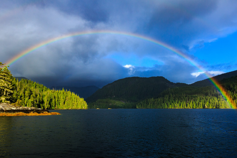 Rainbow in Simoon Sound