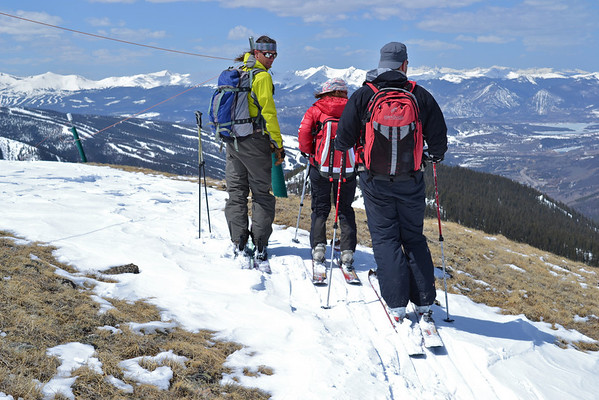 """5-7-11 Ski Tour """"Rock Pile"""" by A-Basin"""