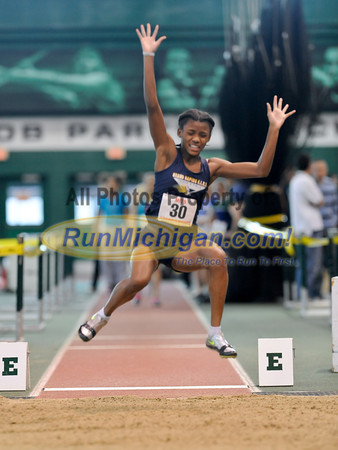 Girl's Long Jump - 2012 MITS Finals