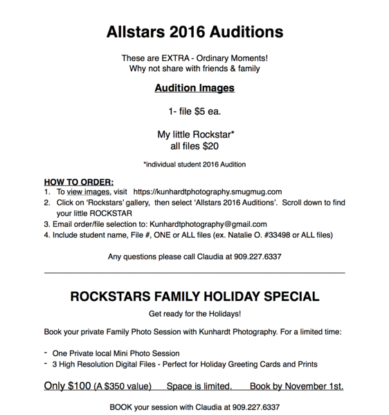 Allstar Auditions pricing 2016.png