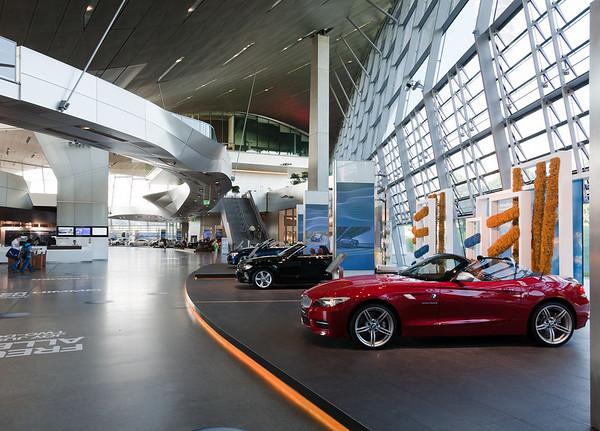 Munich, Friday July 2 - BMW Welt, Olympic Park, etc