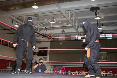 Ninja Brown & Ninja Orange vs The Creeper & Timothy Plazma