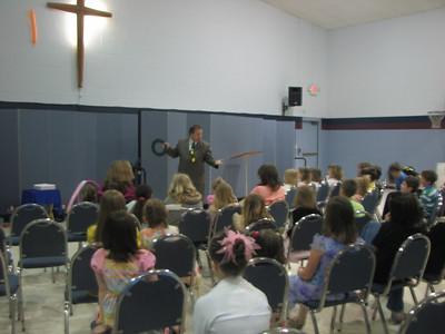 Adrian Nazarene church, Adrian MI, Easter Sunday service, April 2009