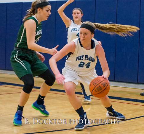 Pine Plains Girls Basketball 2016