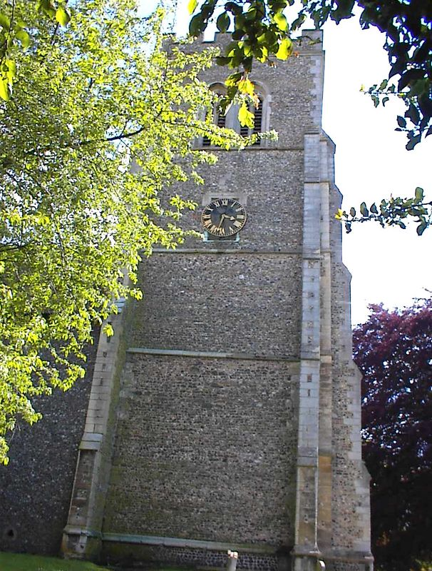 Fifteenth Century Tower, St. Etheldreda Church, Hatfield