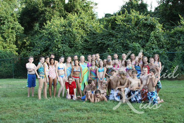 7th Grade Pool Party 2010