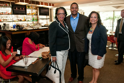 LACCC Monthly Lunch - Coca-Cola Multicultural Marketing Director-Reginald Bean @ Chima 8-20-14 by Jon Strayhorn