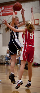 Jan 22 - 7th Gr Girls Blue Basketball vs SASR