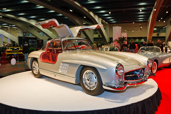 53rd Annual San Francisco International Auto Show - Academy of Art University Classic Cars