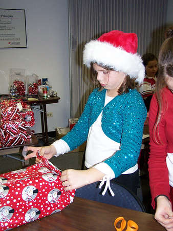 Girl Scout Gift Wrapping