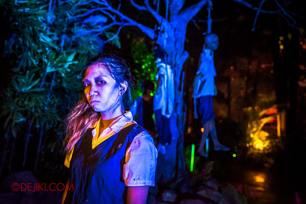 Halloween Horror Nights 6 Sneak Preview - Suicide Forest 2
