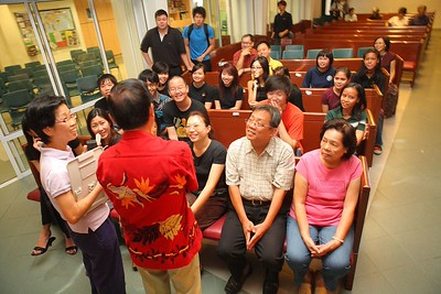 12 Baptism Service