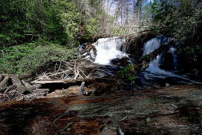 Jones Creek@1470 Feet in Lumpkin County Georgia