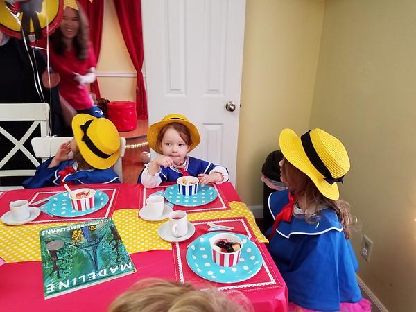 Madeleine's birthday