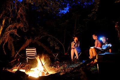 Camping at Pont des Pierres