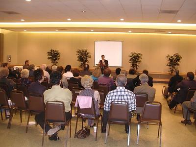 Community Life - Notable Speaker Series - April 18, 2004