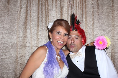 Gloria and Guy's Wedding Photo Booth