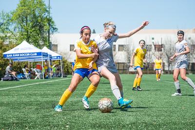 180331 - 03 Girls U15 - Santa Rosa United @ San Juan ECNL
