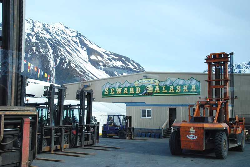 After another full day at sea, we arrive in Seward at 7am on Sunday, May 27th.