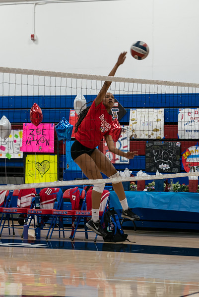 Clayton Valley Volleyball Senior Night