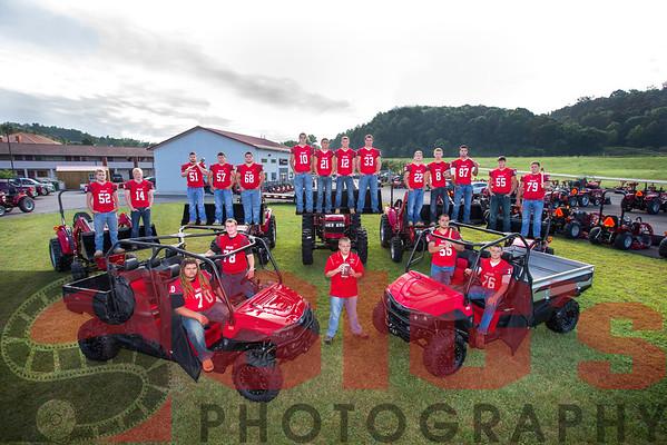 09-14-15 BHS Senior Football Program Photo