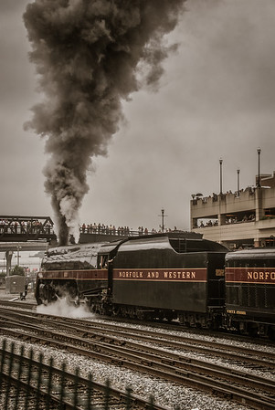 Norfolk & Western 611 July 2015