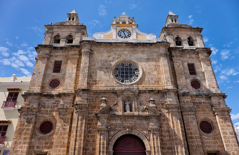 Cartagena Columbia Church of San Pedro Claver