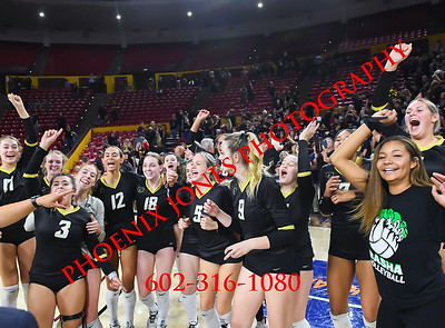 11-12-19 - AIA 6A Volleyball Finals - Awards - Perry vs Basha