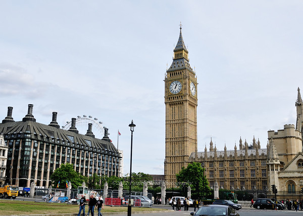 London - Wesminster, Paliament, London Eye, Victoria and Alberts Museum