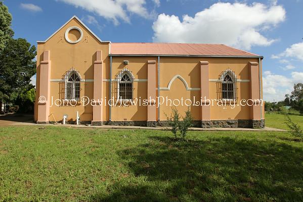 SOUTH AFRICA, Free State, Heilbron. Riemland Museum at Heilbron Synagogue (former) (2.2014)