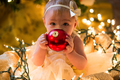 Leah Marie's First Christmas 2018