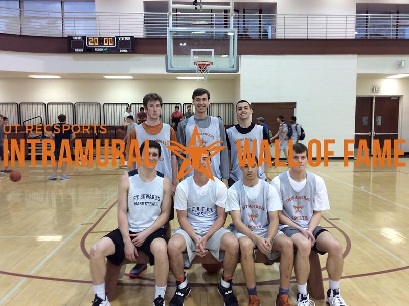 Spring 2017 Basketball Orange B Runner Up_Manager Squad