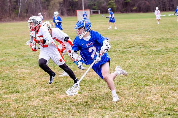 Boys JV Lacrosse vs. KUA   April 17