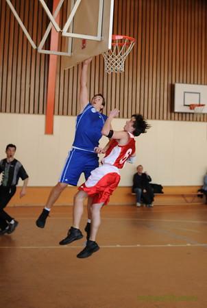 Cadets Morges 93 vs Champel 14.03.2009