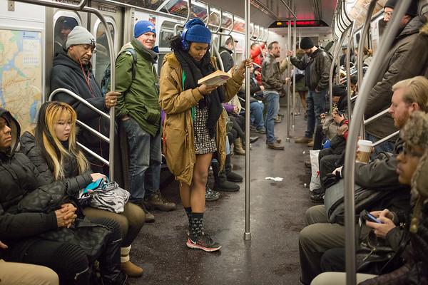 2017/01/08 Improv Everywhere No Pants Subway Ride