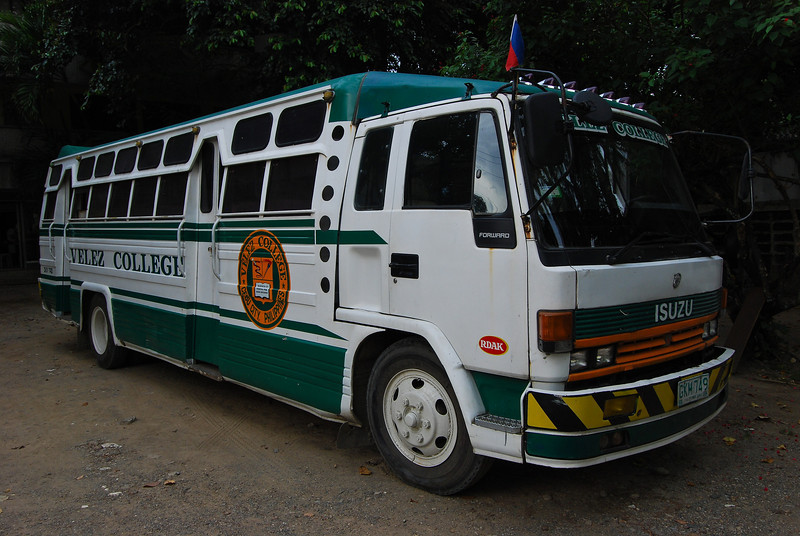 Velez Colllege School bus