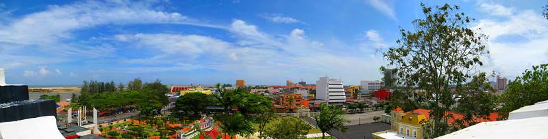 Kuala Terengganu panoramic view