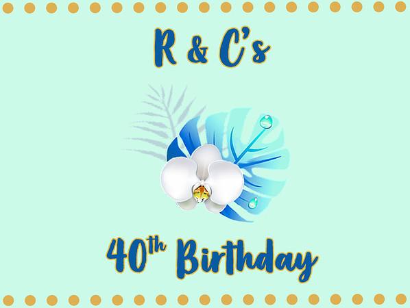 Roger & Christina's 40th Birthday Luau