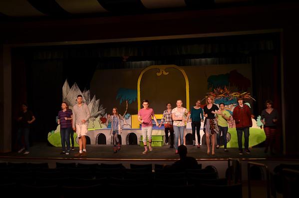 Seussical the Musical - 3/11/13 Tech Rehearsal