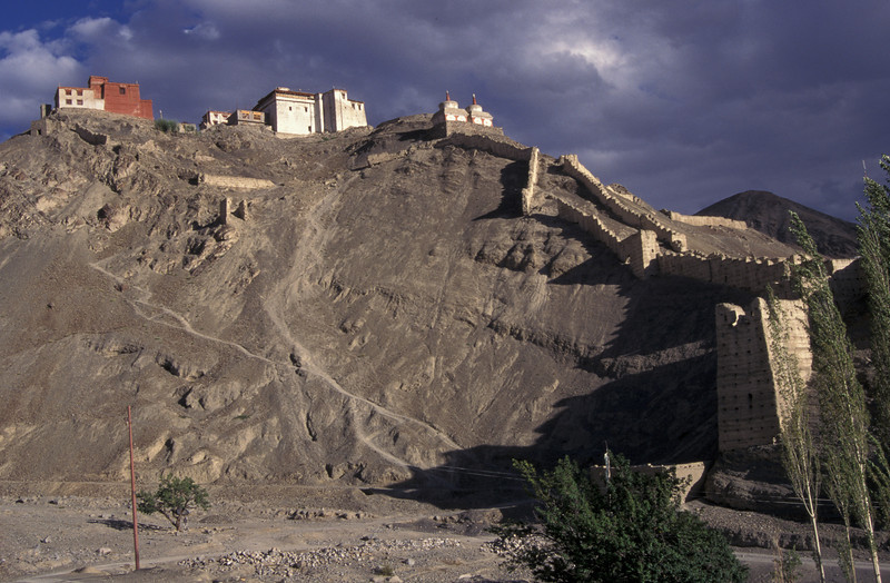 Ancient monastery in Ladakh, India