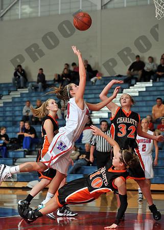 Girls Varsity Basketball - Charlotte at Mason - Dec 8