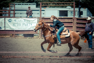 2012 Barrel Racing